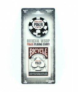 Bicycle WSOP World series of Poker Black BLISTER