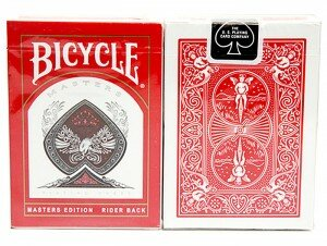 Bicycle Masters Edition Deck Red