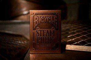 Bicycle SteamPunk vol. 1 Złoty