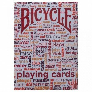Bicycle TABLE TALK red